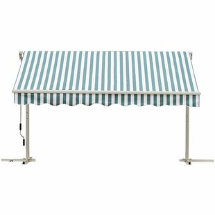 GroveHill 250m W X 300m D Retractable Patio Awning By Sol 72 Outdoor