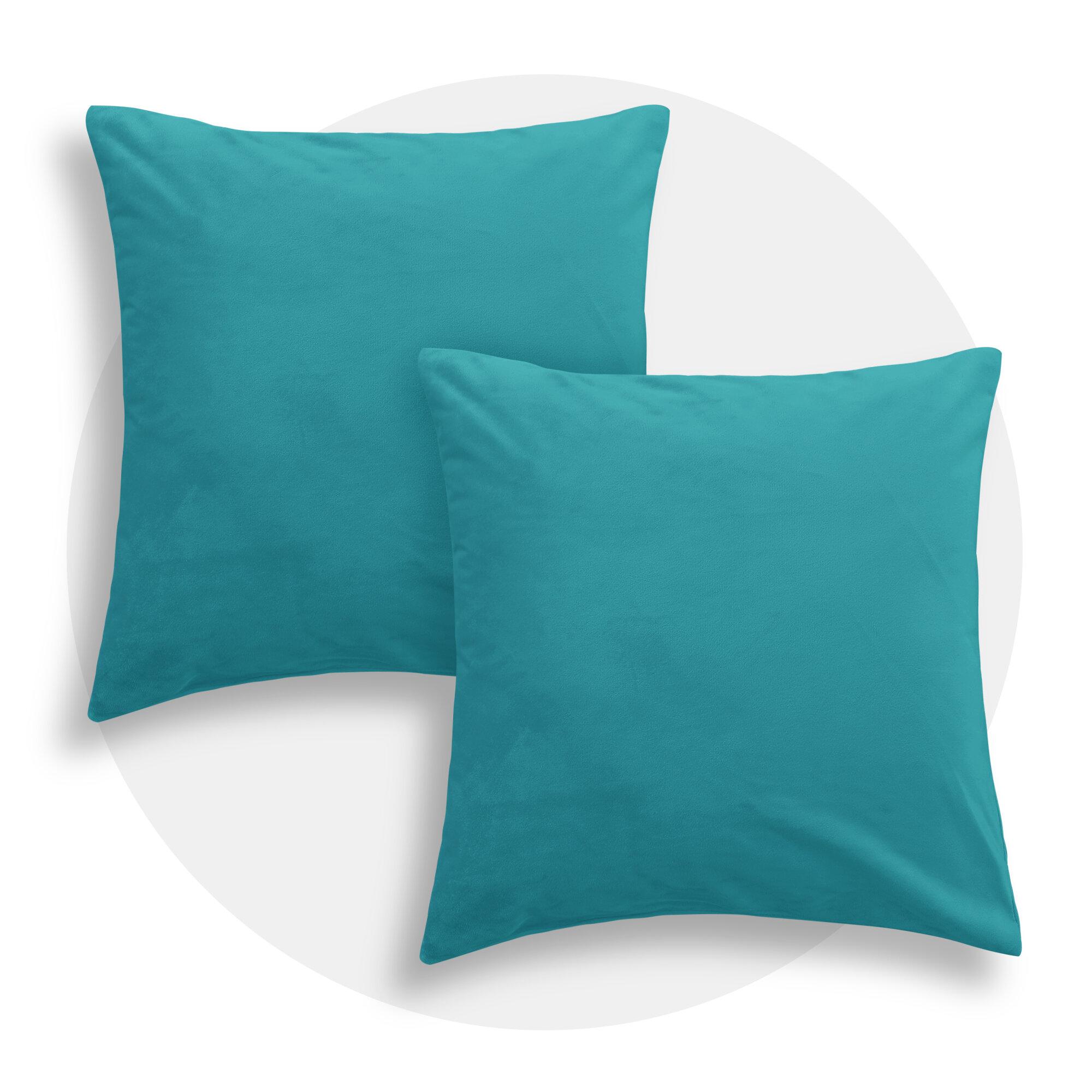 Teal Throw Pillows Free Shipping Over 35 Wayfair