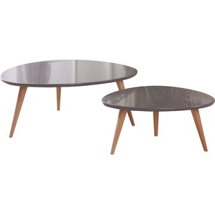 Isabella 2 Piece Coffee Table Set Container