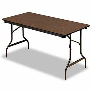 Check Prices 60 Rectangular Folding Table ByIceberg Enterprises