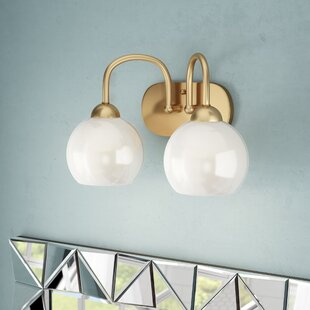 Price Check Jaina 2-Light Vanity Light By Mercer41