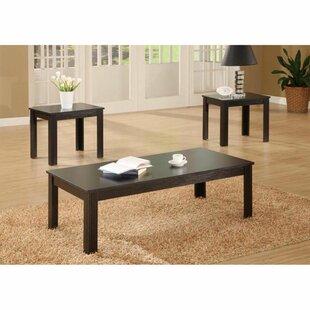 Edip 3 Piece Coffee Table Set