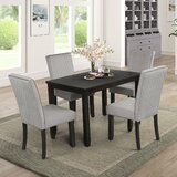 Quesnel 5 Piece Dining Set by Red Barrel Studio®