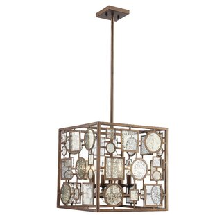 Mercer41 Belgrade 4-Light Square/Rectangle Chandelier