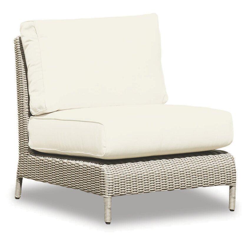 Wonderful Manhattan Armless Club Chair With Cushions