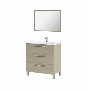 Lucrezia 800mm Free-standing Single Vanity Unit By Belfry Bathroom