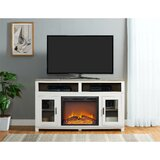 Zahara TV Stand for TVs up to 60 with Electric Fireplace Included by Andover Mills™
