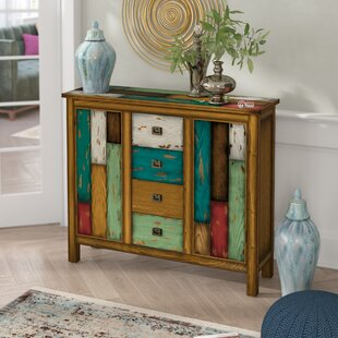 Montgomery 4 Drawer 2 Door Accent Cabinet by Bungalow Rose