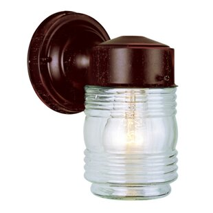 Clearance 1-Light Outdoor Wall Lantern By TransGlobe Lighting