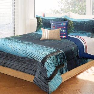 Ridout Dock Comforter Set by Loon Peak