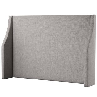 Searching for Maser Swoop Arm Upholstered Wingback Headboard by Mercury Row