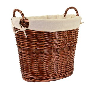 Nadia Wicker Laundry Basket By August Grove