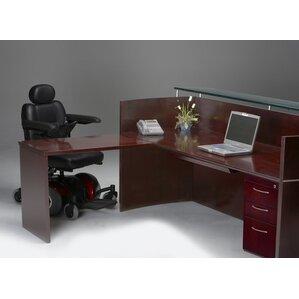 Napoli Series L Shape Reception Desk