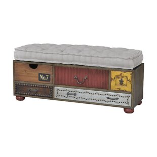 August Grove Rosaire Upholstered Storage ..