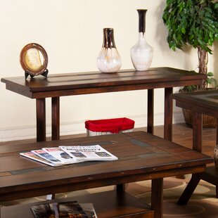 Fresno Natural Slate Console Table