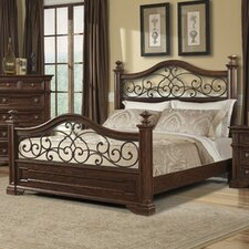 Harris Panel Bed by Klaussner Furniture