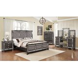 Amberly Standard 7 Piece Bedroom Set by Everly Quinn