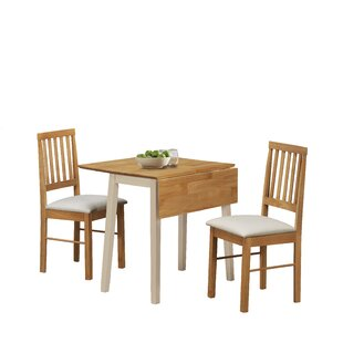 Lilie Dining Set With 2 Chairs By 17 Stories
