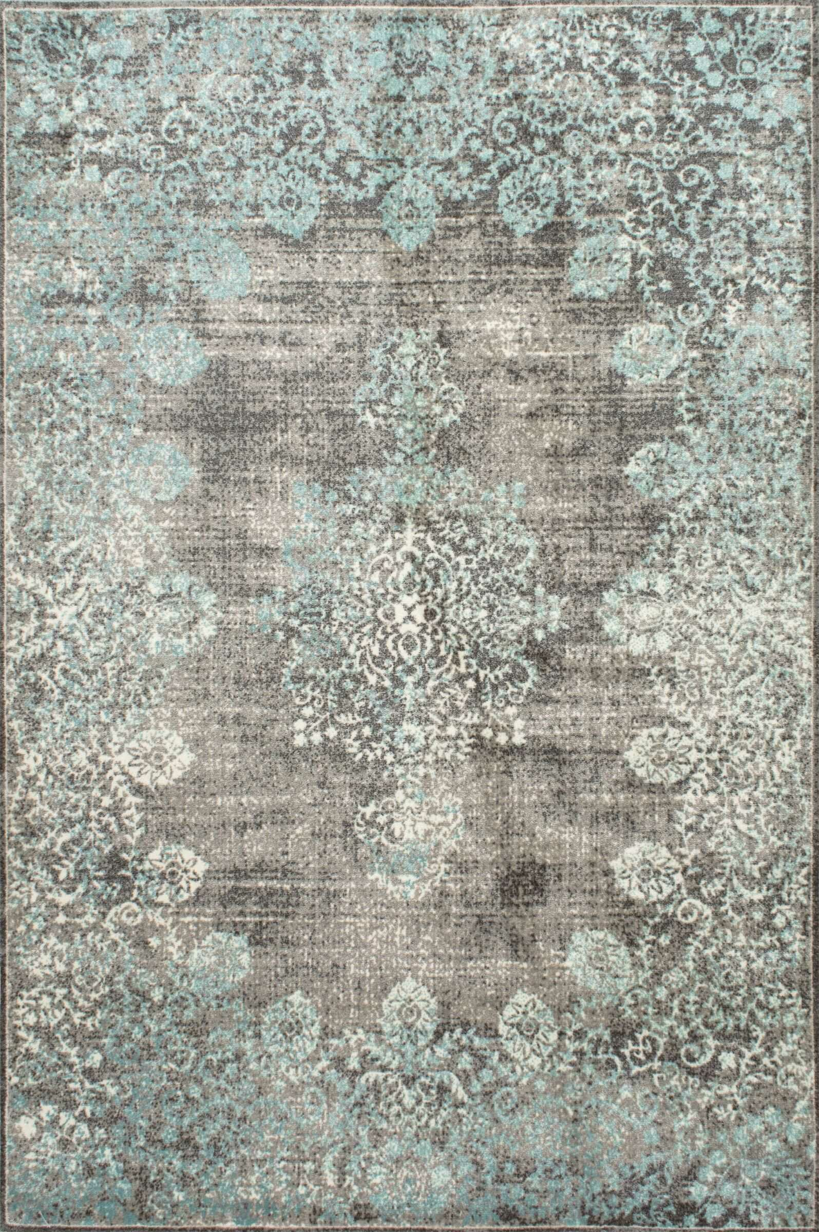 David Turquoise Blue Gray Beige Area Rug Reviews Birch Lane