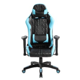 Diamond Quilted Racing Game Chair