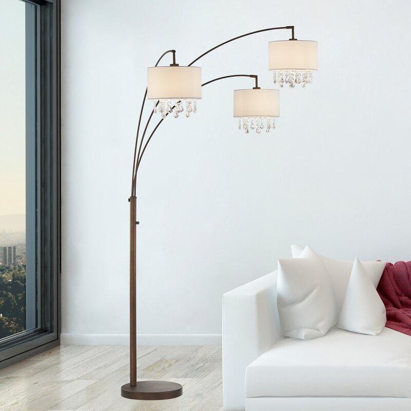 "Dorman Crystal 10"" Tree Floor Lamp"