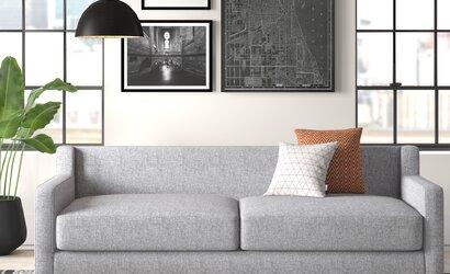 Retro Teak Tv Kast.86 Square Arm Sofa Bed Reviews Allmodern