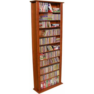 Large Single Multimedia Storage Rack