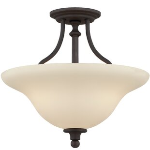 Baney 3-Light Semi Flush Mount by Darby Home Co