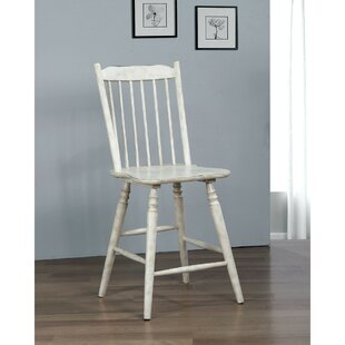 Pigott Solid Wood Dining Chair (Set of 2) August Grove