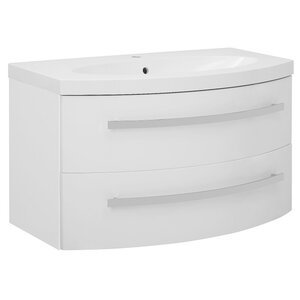 Belfry Bathroom Carmen 96cm Wall Mounted Vanity ..