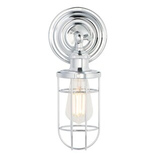 Silverman 1-Light Bath Sconce by Breakwater Bay