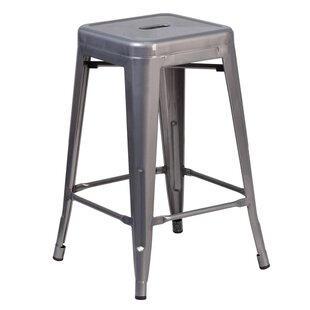 Mccoy 24.25 Bar Stool by Gracie Oaks