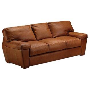 Omnia Leather Prescott Sleeper Sofa