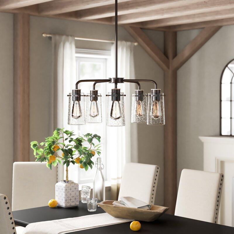 Fruita 5 Light Shaded Classic Traditional Chandelier