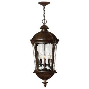 Windsor 4-Light LED Outdoor Hanging Lantern