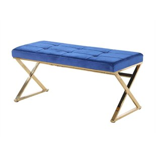 Keitt Relaxing Metal Bench