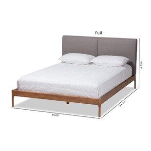 Colyt Upholstered Platform Bed by Highland Dunes