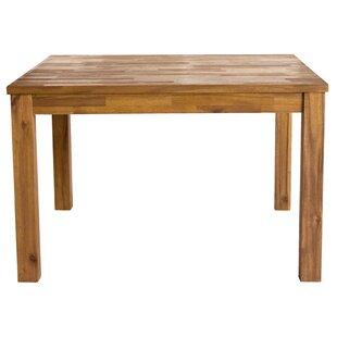 Millwood Pines Yokum Solid Wood Dining Table