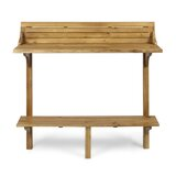 Bushnell Solid Wood Balcony Table