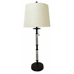 Knaack Crystal Column Buffet Lamp (Set of 2)