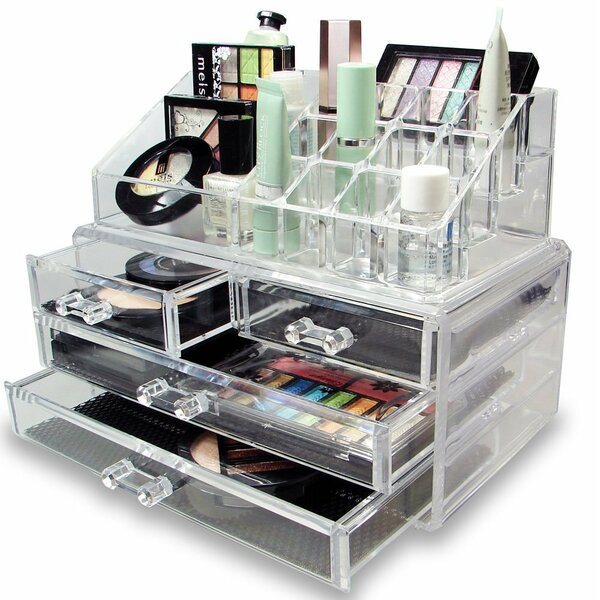 Image result for organization of cosmetics in the house