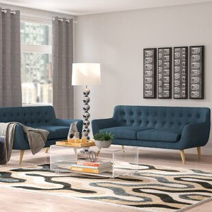 Best Reviews Meggie 2 Piece Living Room Set by Langley Street Reviews (2019) & Buyer's Guide