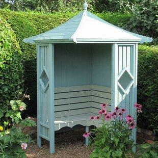 Beley Wooden Arbour Bench By Sol 72 Outdoor