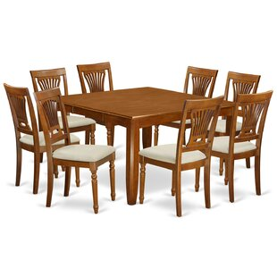 Parfait 9 Piece Dining Set by Wooden Importers Wonderful