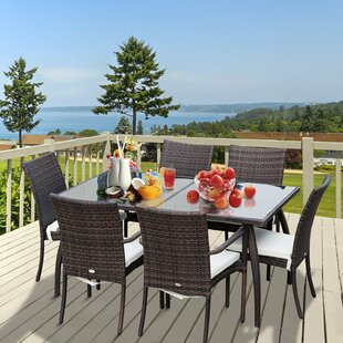 Route 6 Seater Dining Set By Sol 72 Outdoor