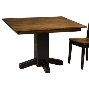 August Grove Watertown Solid Wood Dining ..