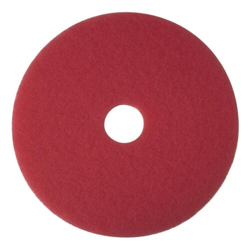 """Buffer Pad, Removes Scuff Marks, 16"""", 5/CT, Red"""