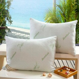 Emil Rayon from Bamboo Firm Memory Foam Queen Pillow (Set of 2)
