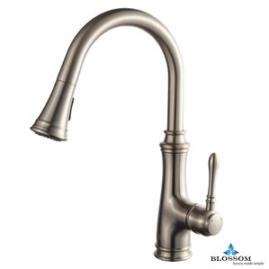 Blossom Pull Down Single Handle Kitchen Faucet