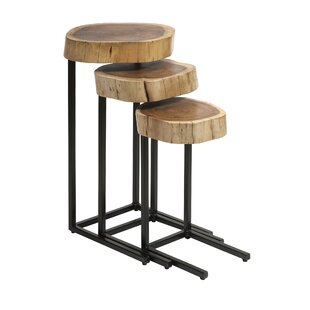 Low priced Auburn 3 Piece Nesting Tables by Foundry Select
